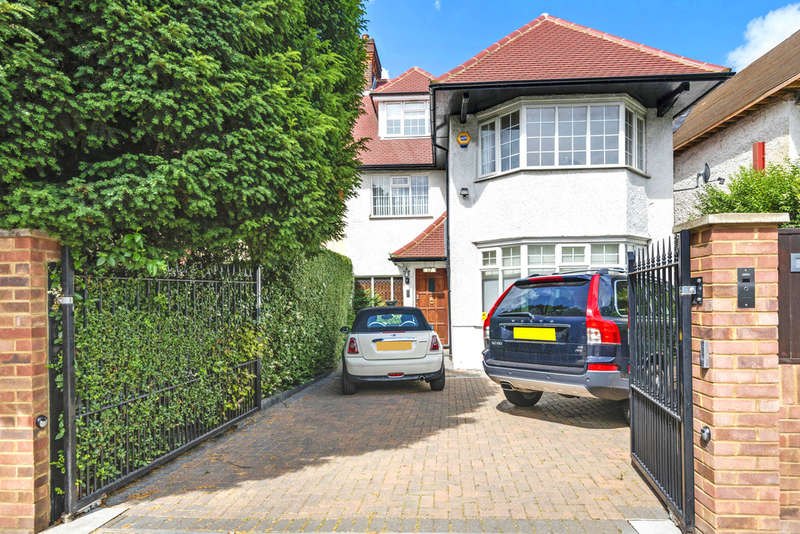 5 Bedrooms Semi Detached House for sale in THE RIDGEWAY, GOLDERS GREEN, LONDON, NW11