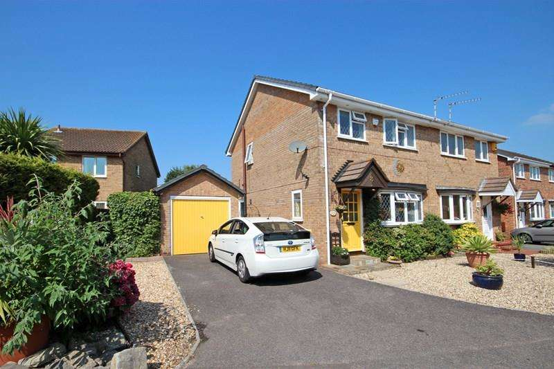 3 Bedrooms Semi Detached House for sale in Sarah Close, Castledean, Bournemouth