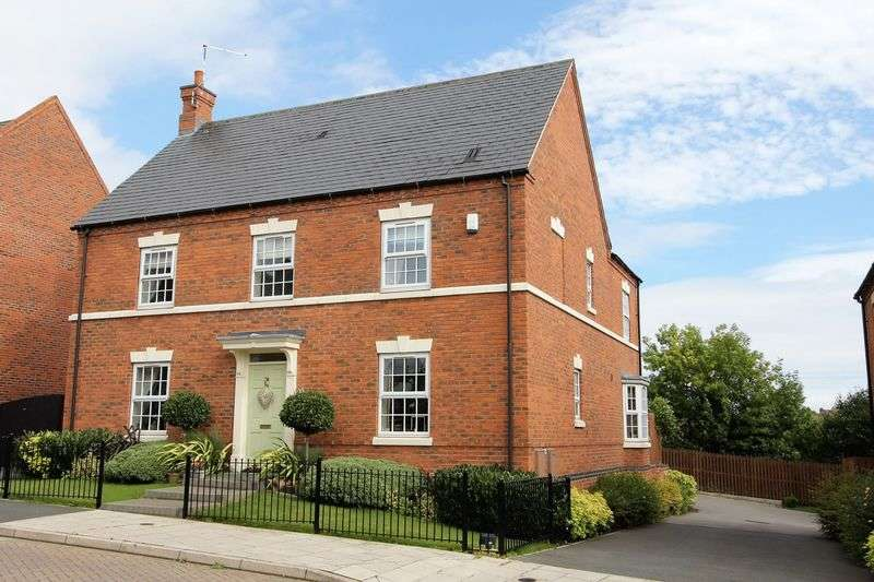4 Bedrooms Detached House for sale in Sweet Leys Way, Melbourne, Derbyshire DE73 8LE