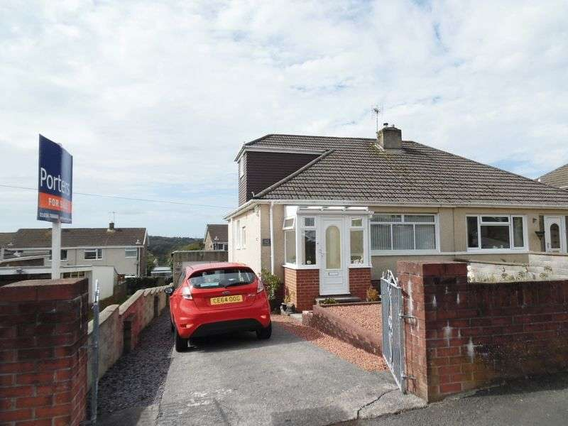 2 Bedrooms Semi Detached Bungalow for sale in Bryn Llidiard Litchard Bridgend CF31 1QN