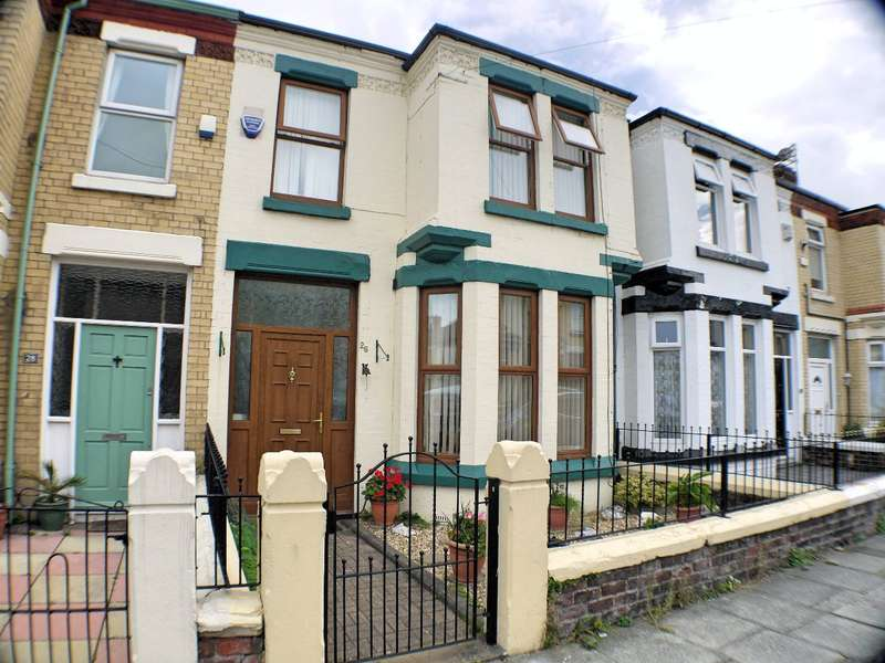 3 Bedrooms Terraced House for sale in Ferndale Road, Liverpool, L22 9QW