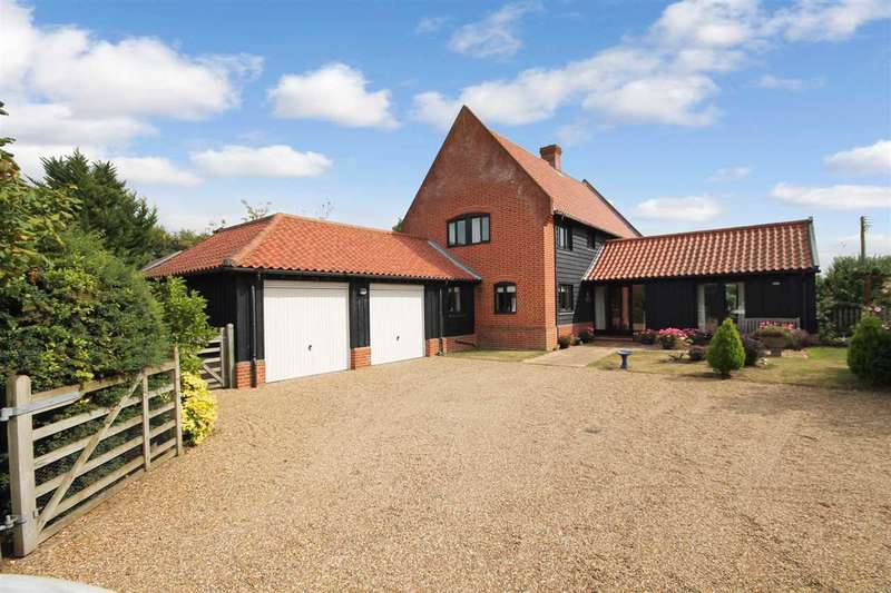 4 Bedrooms Detached House for sale in White Woman's Lane, Eyke