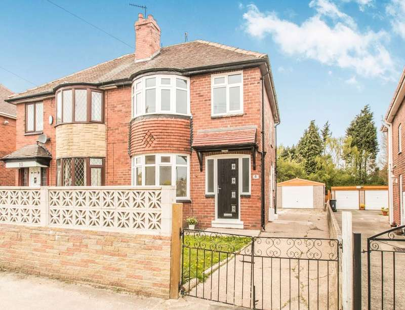 3 Bedrooms Semi Detached House for sale in Orion Crescent, Leeds, LS10