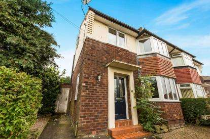 4 Bedrooms Semi Detached House for sale in Larkhill Road, Cheadle Hulme, Cheadle, Greater Manchester