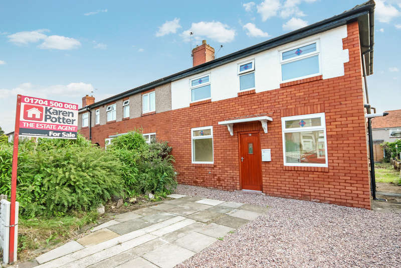 2 Bedrooms End Of Terrace House for sale in Essex Road, Birkdale, Southport