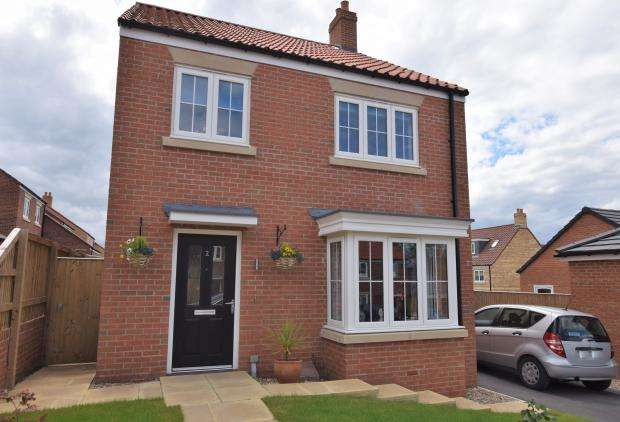 4 Bedrooms Detached House for sale in Bramble Way, Scalby, Scarborough, North Yorkshire, YO13 0BU