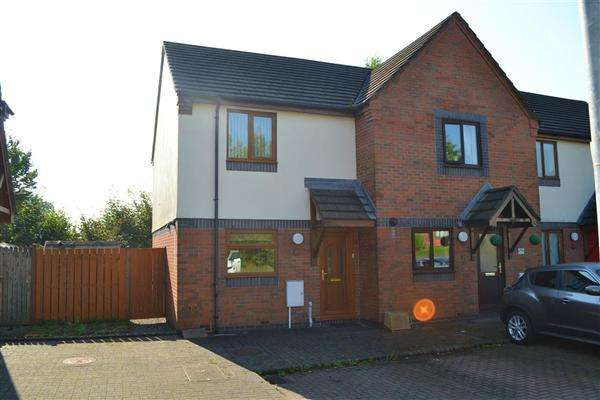 2 Bedrooms Terraced House for sale in Burgess Meadows, Johnstown, Carmarthen