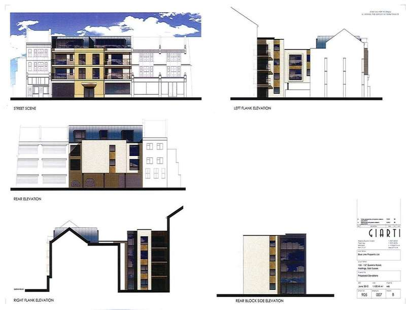 1 Bedroom Flat for sale in Queens Road, Hastings, TN34