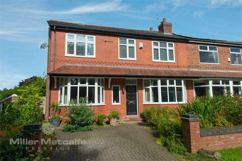 4 Bedrooms Semi Detached House for sale in Lambton Road, Worsley, Manchester