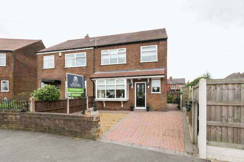 3 Bedrooms Semi Detached House for sale in Norbreck Crescent, Springfield, WN6 7RF