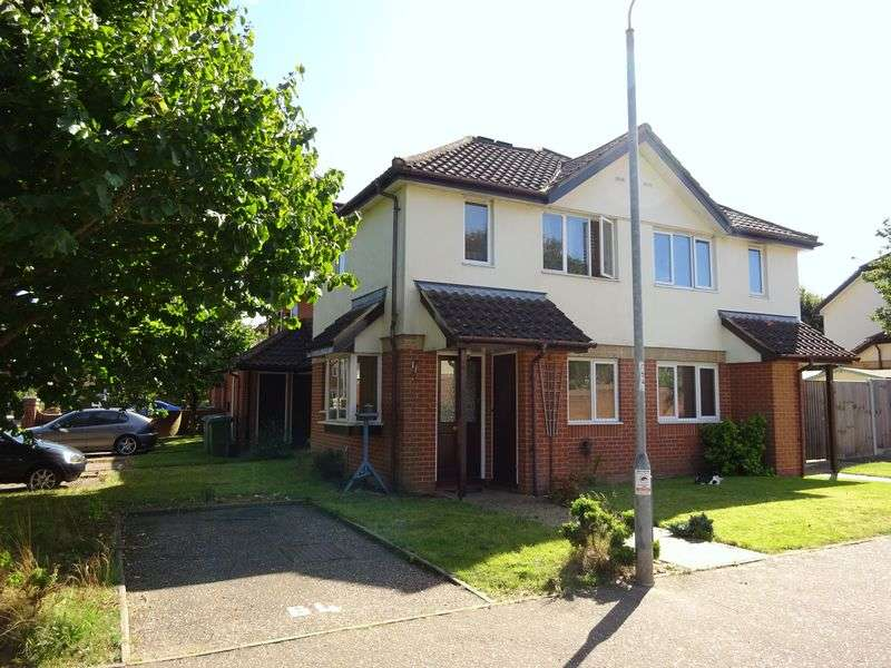 1 Bedroom Semi Detached House for sale in Mulberry Court, Taverham, Norwich