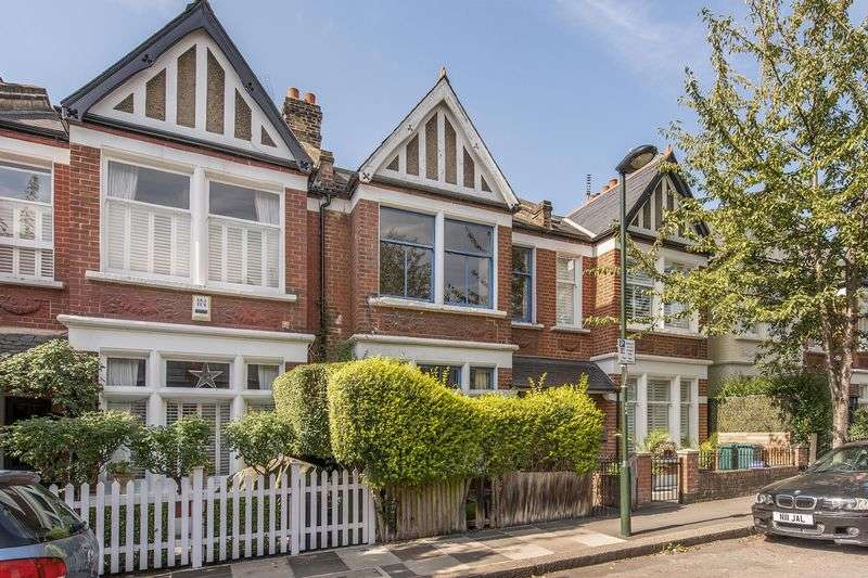 3 Bedrooms Terraced House for sale in Elm Grove Road, Barnes, London, SW13