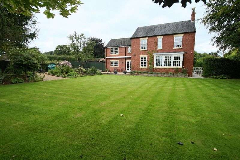4 Bedrooms Detached House for sale in Willoughbridge, Market Drayton
