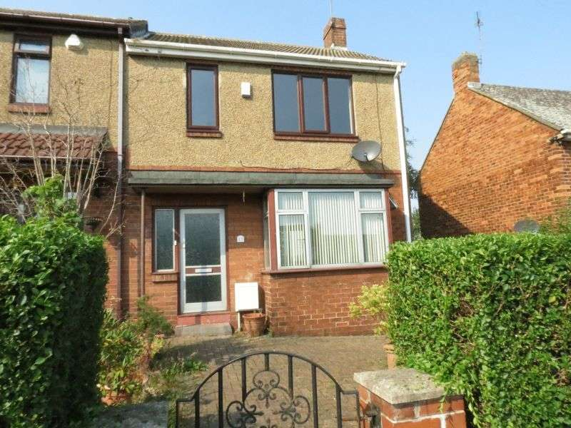 3 Bedrooms Terraced House for sale in Wellfare Crescent, South Hetton