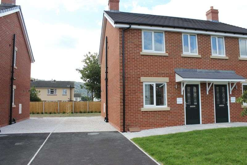 3 Bedrooms Semi Detached House for sale in PLOT 5, GWILYM VIEW, CEFN MAWR