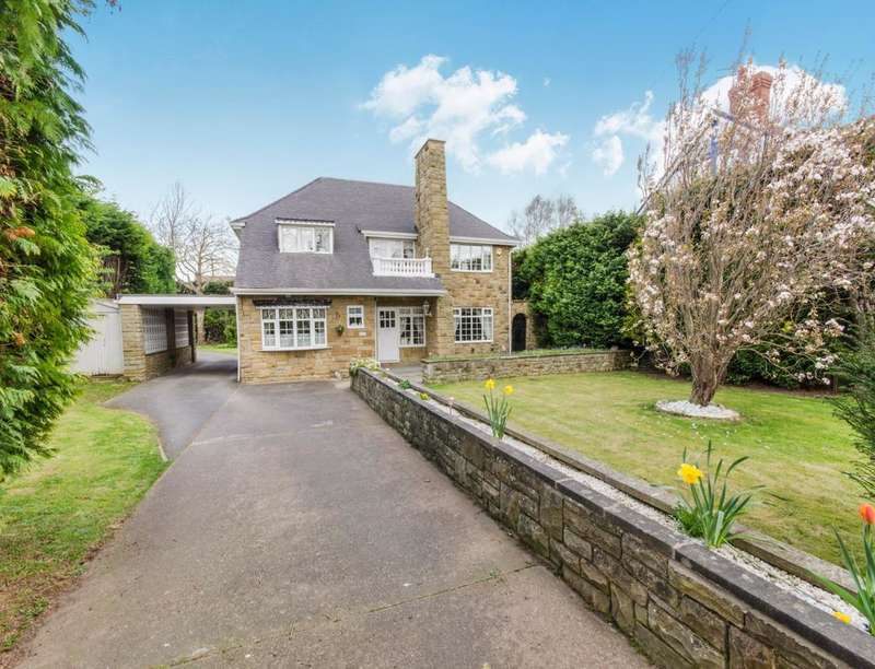 4 Bedrooms Detached House for sale in Tenter Balk Lane, Adwick-Le-Street, Doncaster, DN6
