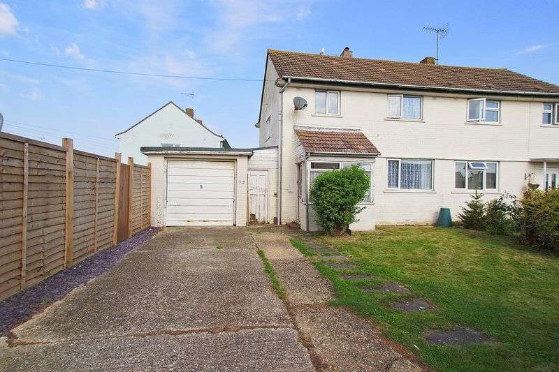 3 Bedrooms Semi Detached House for sale in Orchard Way, Bognor Regis, PO22