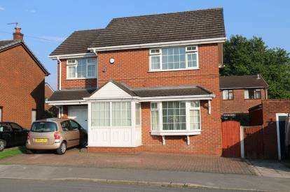 3 Bedrooms Detached House for sale in Petticoat Lane, Ince, Wigan, Greater Manchester, WN2