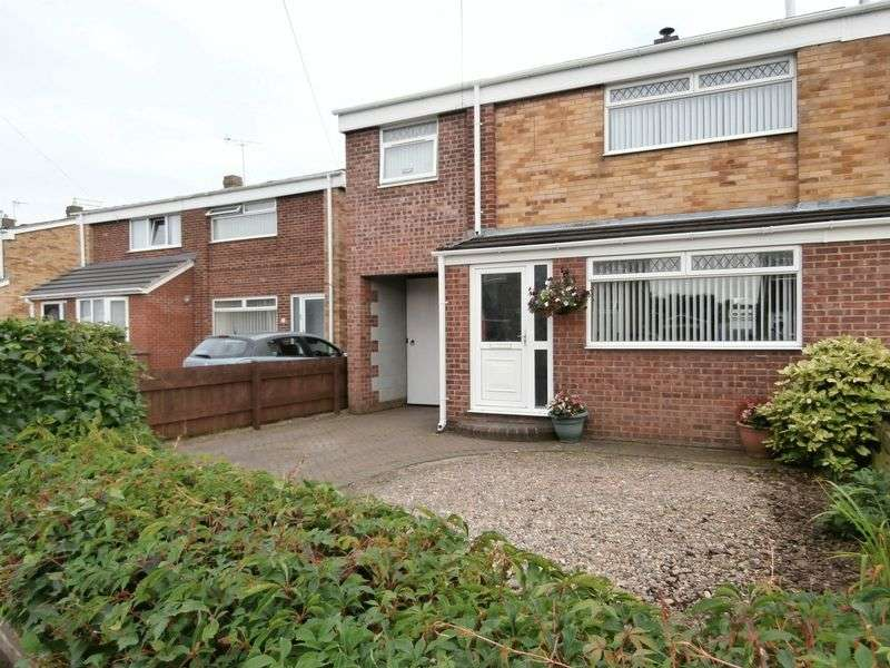 4 Bedrooms Semi Detached House for sale in Fleet Garth, Hedon