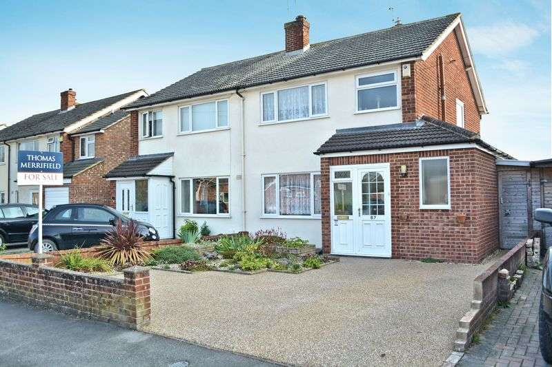 3 Bedrooms Semi Detached House for sale in Churchill Road, Didcot