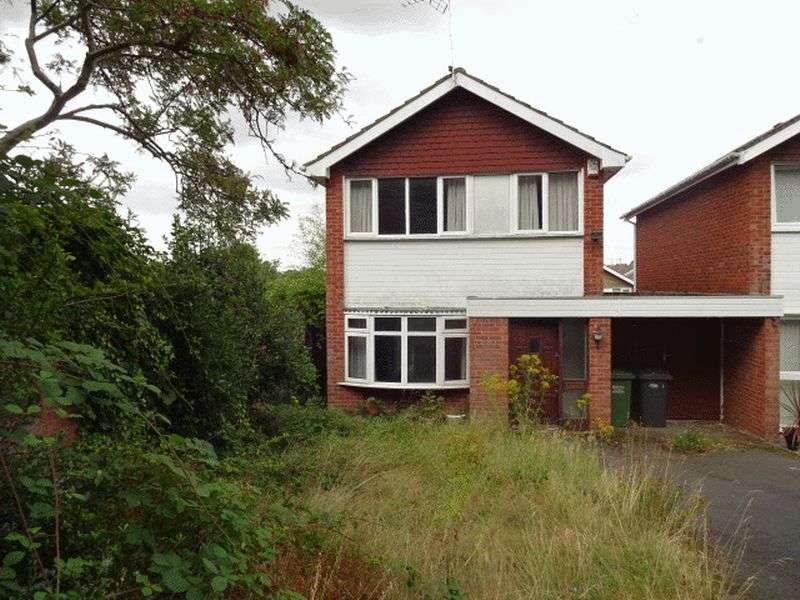 3 Bedrooms Detached House for sale in AUCTION Ruskin Avenue, Kidderminster DY10 3XQ
