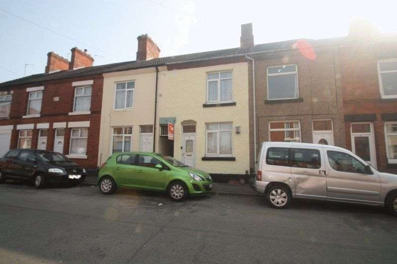 2 Bedrooms Terraced House for sale in Vaughan Street, Coalville