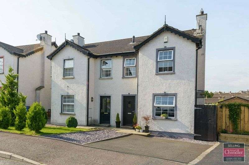 3 Bedrooms Semi Detached House for sale in 11 Strone Park, Dundonald, BT16 1UW