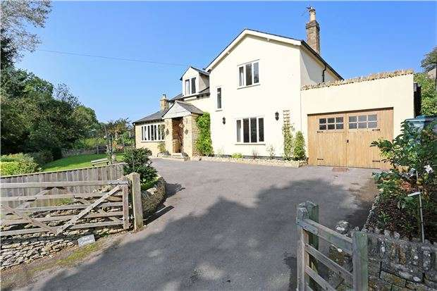3 Bedrooms Detached House for sale in Fern Cottage, Coberley, Cheltenham, Glos, GL53 9QZ