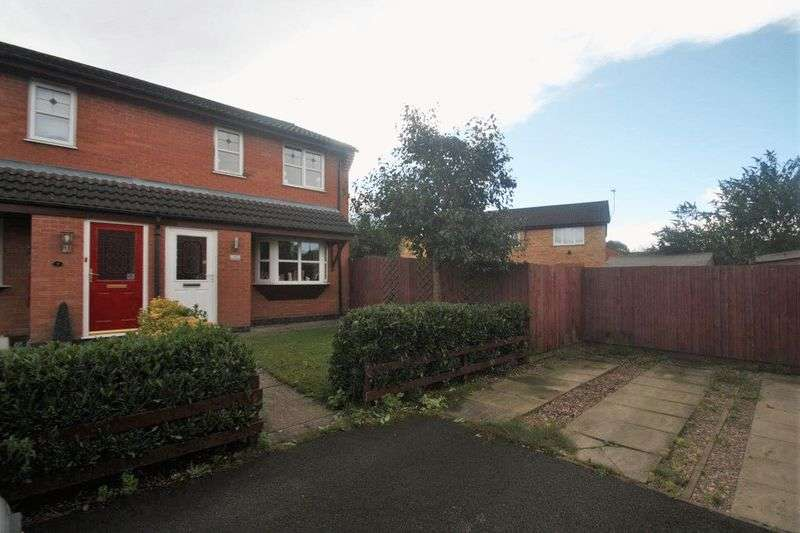 3 Bedrooms Semi Detached House for sale in Poppy Close, Coalville