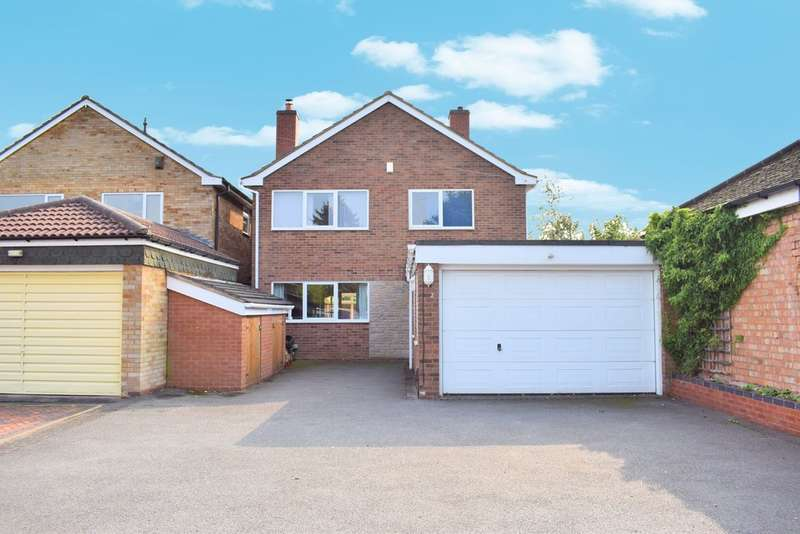 4 Bedrooms Detached House for sale in Coppice Road, Solihull