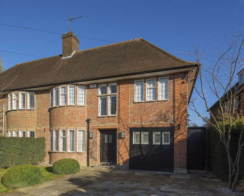 5 Bedrooms House for sale in Kingsley Way, Hampstead Garden Suburb, N2