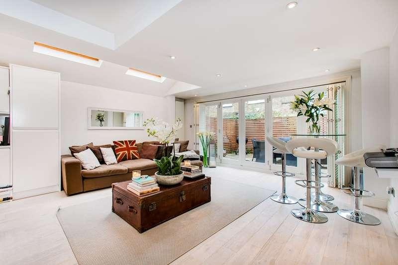 2 Bedrooms Flat for sale in Tregarvon Road, Battersea, London