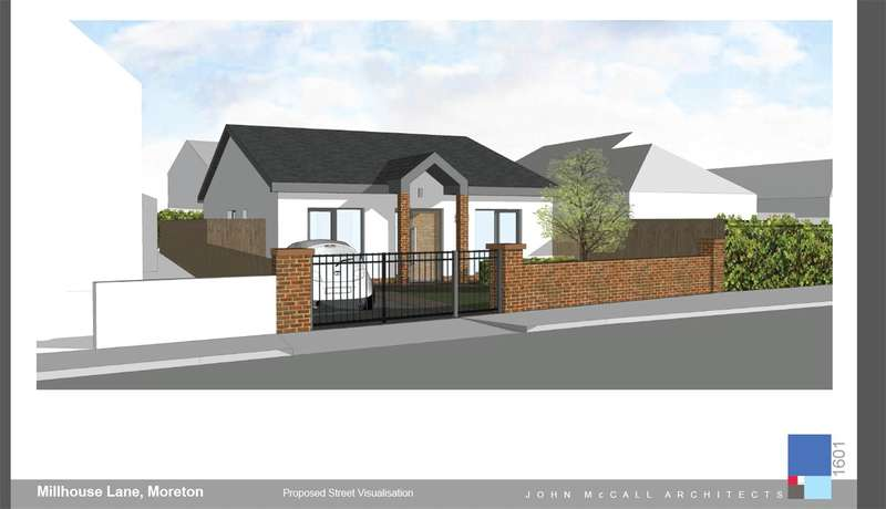 3 Bedrooms Detached Bungalow for sale in Millhouse Lane, Moreton, Wirral