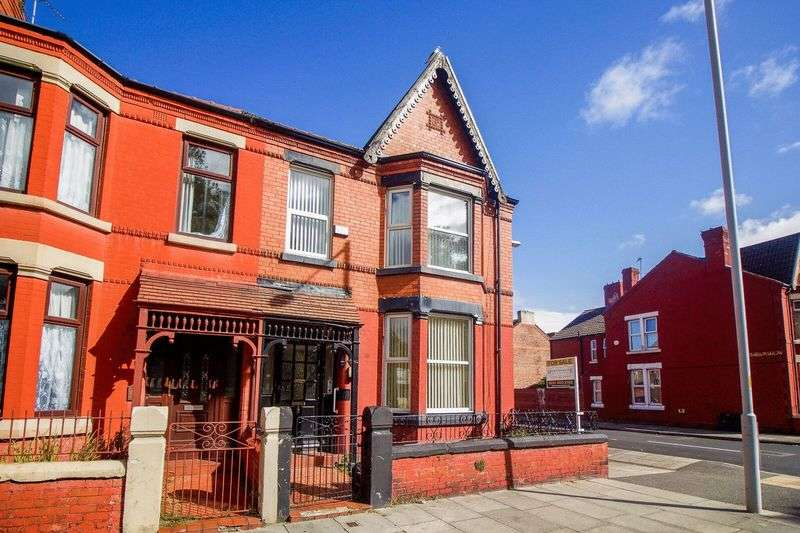 4 Bedrooms Terraced House for sale in Park Road North, Birkenhead