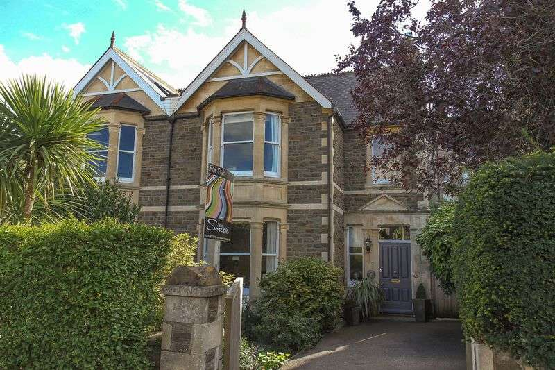 5 Bedrooms Semi Detached House for sale in St Johns Road, Clevedon