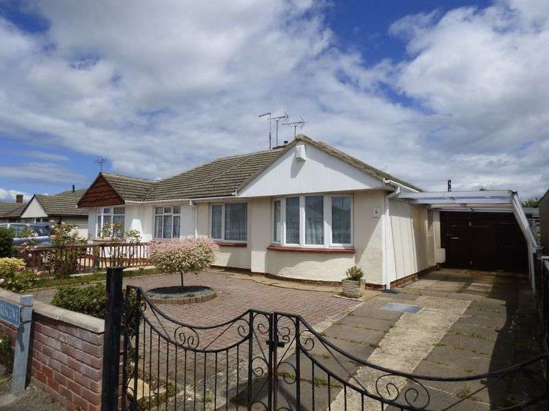 2 Bedrooms Semi Detached Bungalow for sale in Park Wood Crescent, Hucclecote, Gloucester