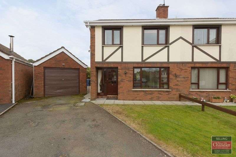 3 Bedrooms Semi Detached House for sale in 18 Shrewsbury Dale, Saintfield, BT24 7NE