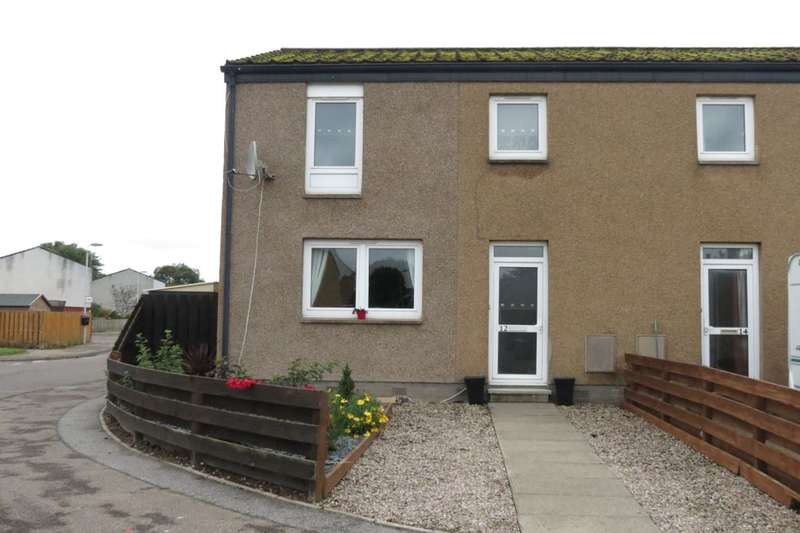 3 Bedrooms Semi Detached House for sale in Drumine Road, Forres, IV36