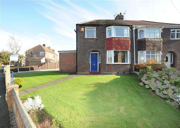 3 Bedrooms Semi Detached House for sale in 3 Hartley Grove, Irlam, M44 6HL