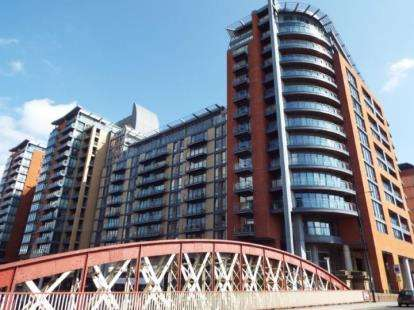 2 Bedrooms Flat for sale in Leftbank, Manchester, Greater Manchester