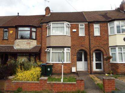 2 Bedrooms Terraced House for sale in St. Christians Road, Chylesmore, Coventry, West Midlands