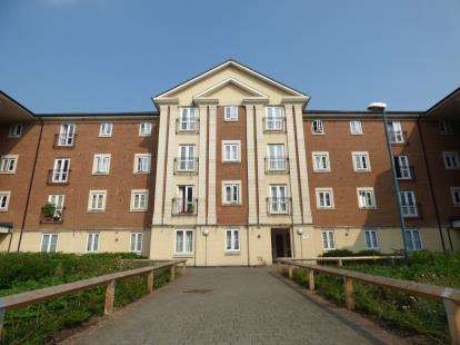 2 Bedrooms Flat for sale in Brunel Crescent, Swindon, Wiltshire