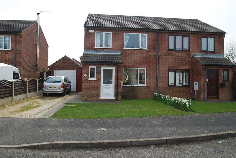 3 Bedrooms Semi Detached House for sale in Ramsay Close, Skegness