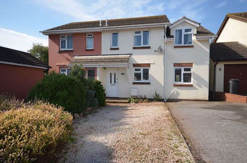 4 Bedrooms Semi Detached House for sale in FRESHWATER DRIVE, HOOKHILLS, PAIGNTON.
