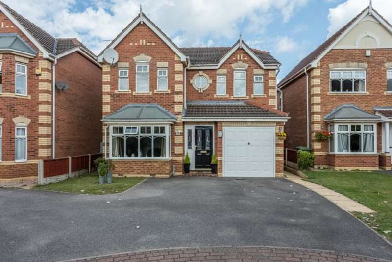 4 Bedrooms Detached House for sale in Russet Close, Scunthorpe, Lincolnshire, DN15