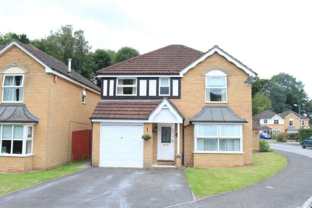 4 Bedrooms Detached House for sale in Gores Park, High Littleton, BS39