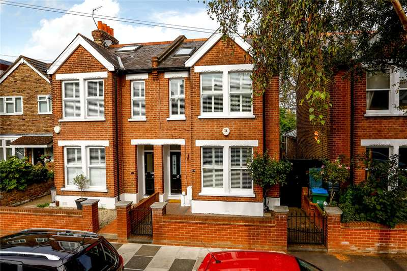 5 Bedrooms Semi Detached House for sale in Atbara Road, Teddington, TW11