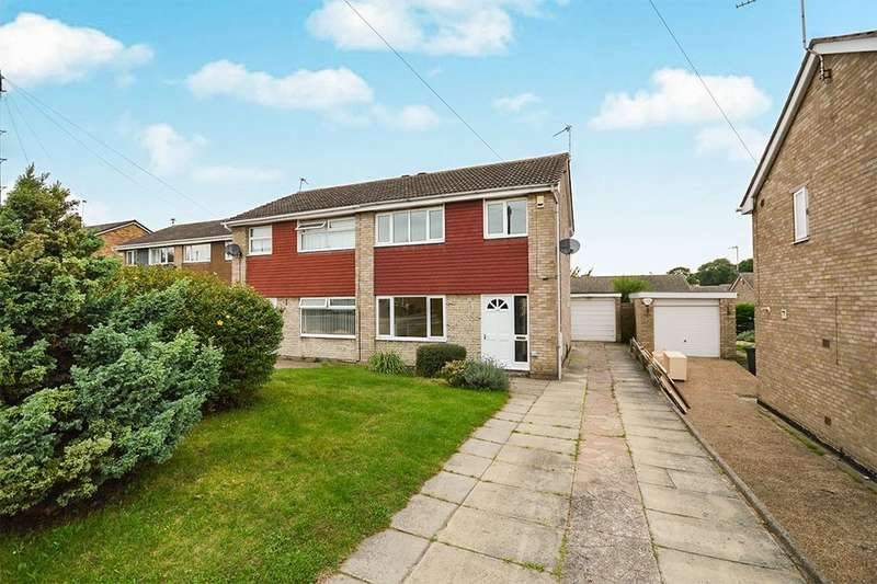 3 Bedrooms Semi Detached House for sale in Spilsby Close, Cantley, Doncaster, DN4