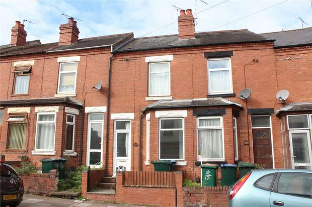 2 Bedrooms Terraced House for sale in Melbourne Road, Earlsdon, Coventry, West Midlands
