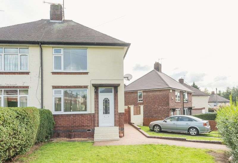 2 Bedrooms Semi Detached House for sale in Halliwell Crescent, Near Wadsley Bridge - Very Well Presented